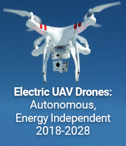 REPORT: Electric UAV Drones 2018-2028