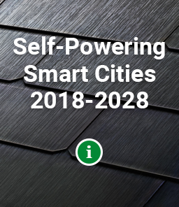 REPORT: Self-Powering Smart Cities 2018-2028