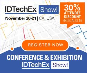 EVENT: IDTechEx Show USA 30% 300